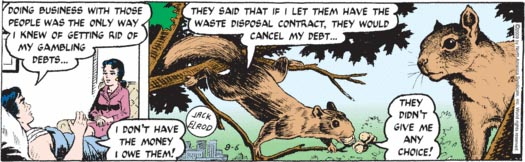 I thought Mark Trail was all about animal facts?